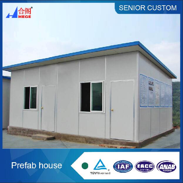 2017 Easy Install and Low Cost Small House Design in Nepal Prefab House China