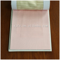 New design popular 100 polyester permanent fire retardant hospital bed curtain fabric
