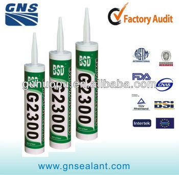 Hot sale waterproof adhesive silicone sealant