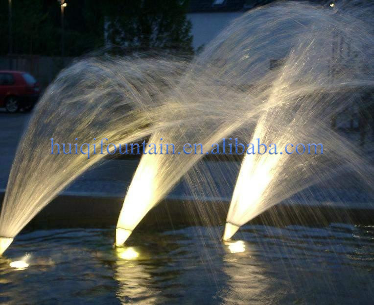 Wholesale different types of nozzles stainless steel water spray jet dancing fountain nozzle for Swimming pool fountain nozzles