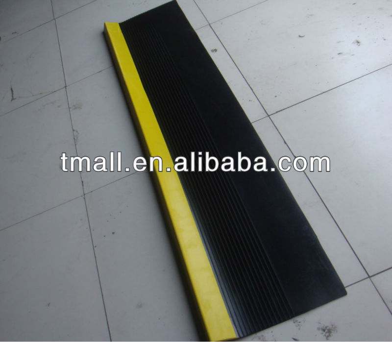 indoor rubber stair treads/stair edges