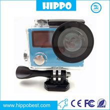 3x Video Full HD 1080P Action Camera facebook login with high quality output format wi fi bluetooth camera