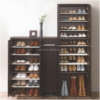 very cheap particleboard shoe cabinet from china shengze wood