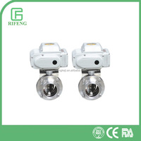 Sanitary Stainless Steel Electric Butterfly Valves Made In China