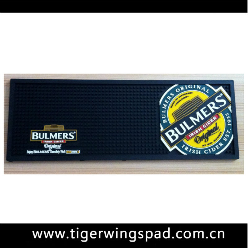 Hottest custom neoprene bar mat