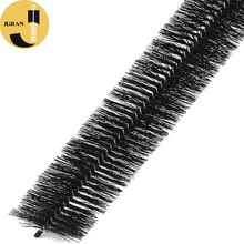 Telescopic Household Plastic Cleaning Steel Wire Part Material Product Hedgehog Road Roof Gutter Brush