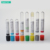 High quality disposable various colors PET blood drawing container for hospital single use