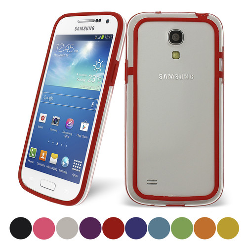 TPU Gel Bumper Case for Samsung Galaxy S4 Mini I9190