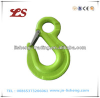 G100 Eye Sling Forged Hook With Latch
