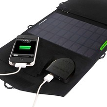 18V 14W Solar Laptop Battery Solar Car Battery Solar Phone Charger