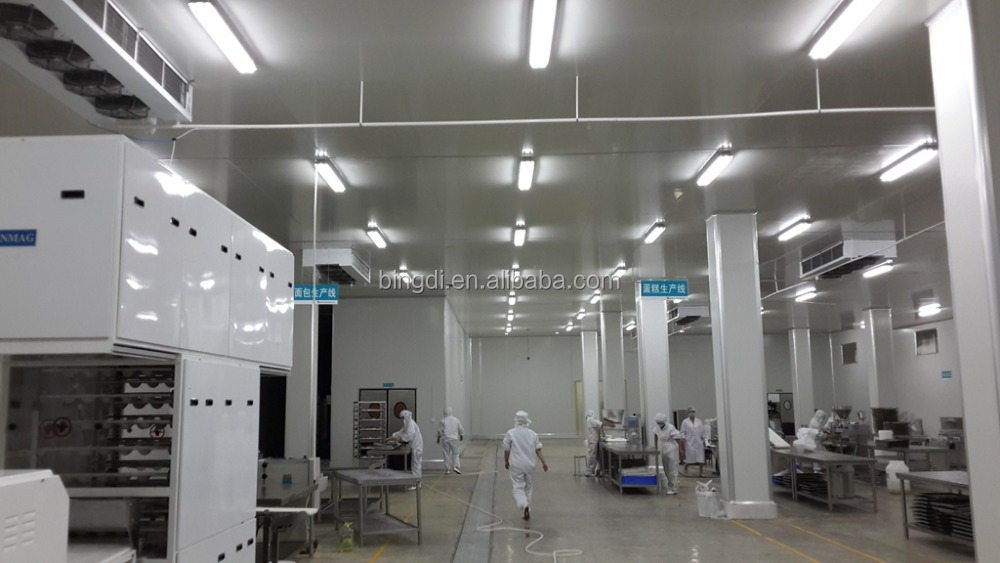 central kithen cold room food distribution center in catering industry