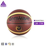 Factory wholesale size 5 pu materials used high elastic teams basketball ball