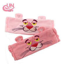 China factory price cute cartoon pink panther headband for Wash a face