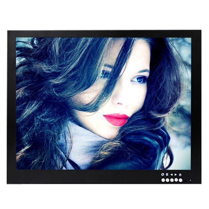 Built in AC 100-240V used 15 inch tft lcd tv monitor for car