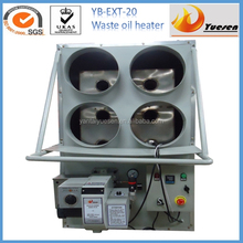 floor standing waste oil fired heater for poultry farm room