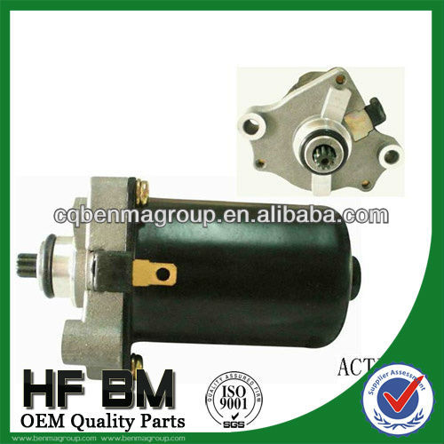 Activa motorcycle starter motor ,starter motors for motorcycle manufactory
