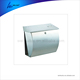 waterproof Semi Curve lockable mailboxes stainless steel modern urban style