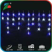 Christmas street decorative outdoor /indoor Star icicle light