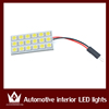 Brightness led car interior dome light, 5050 chips roof light with three connectors