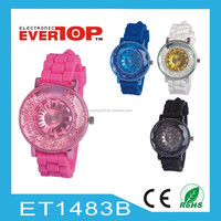 HOT HOT HOT LADY SILICON WATCH ET1483B