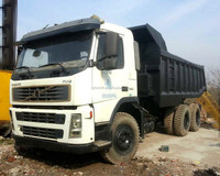 second hand volvo dump truck for sale in china