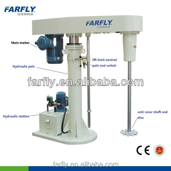 FDG CE Certified Superfine Paint Dispersing Machine, coating mixer