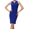 Wholesale Summer Sleeveless Slim Bandage Office Lady Dress