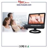 Portable TV Screen with usb sd Card Slot 9 inches TFT lcd Color Monitor 7 inch Mini lcd TV