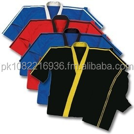 8 oz Middleweight Traditional Karate Red and Black Demo Team Uniform