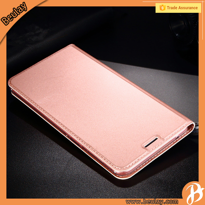 Premium PU Leather Book Wallet Style Flip Case Cover for Oppo R9