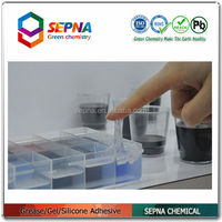2-component heat-conducting materials silicone gel for electronics SI2715A/B