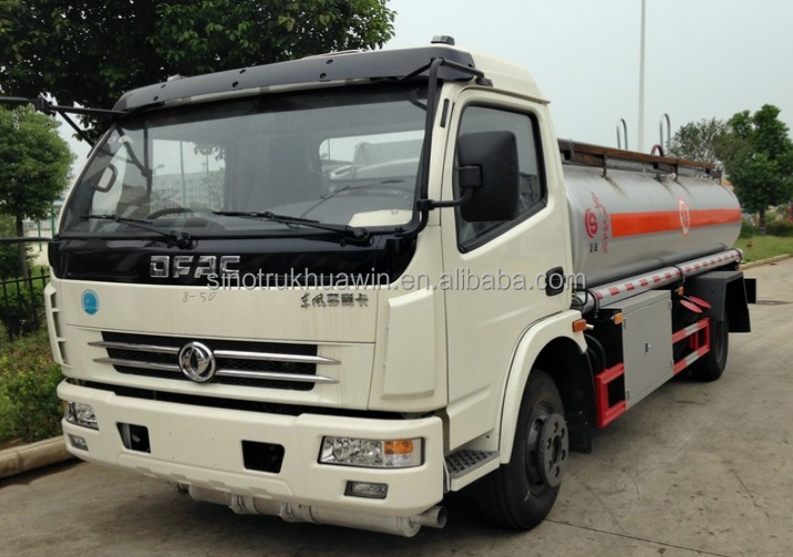 Euro 4 Emission Dongfeng DFAC 4X2 136HP 9m3 Refuelling Truck with cheap price