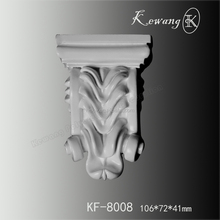 Cheap Price New Construction Materia Pu Foam Fine Carved Polyurethane Corbels