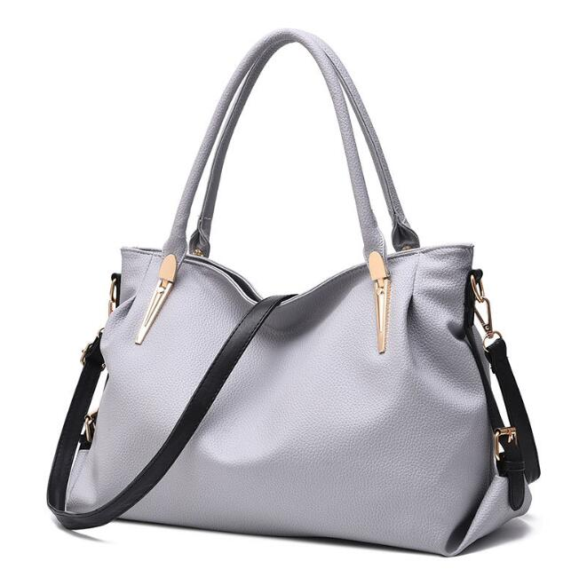 zm42799a 2016 new style fashion ladies tote should bags women pu leather designer handbags