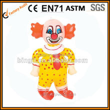 inflatable clown, inflatable toy, baby pvc toy