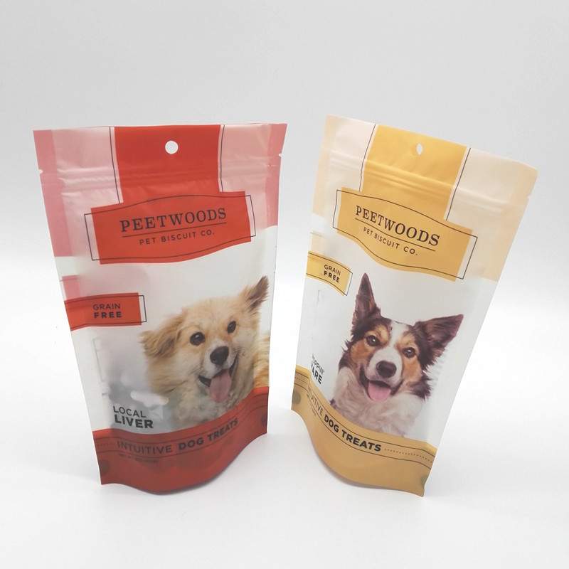 Wholesale colorful premium dog food packaging bags for pet food