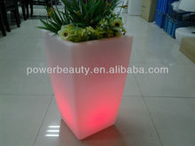 Gardening Planter Decoration led flower pots plastic liners