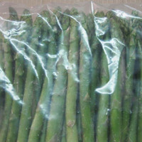 ISO certificate frozen vegetable green asparagus for sale in China