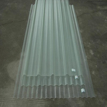 High Strength Cost Effective Clear Plastic / PC Corrugated Transparent Roofing Sheet for shed / greenhouse
