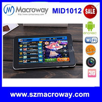 Factory directly supply 7 inch pad tablet 7'' inch touch screen android tablet pc