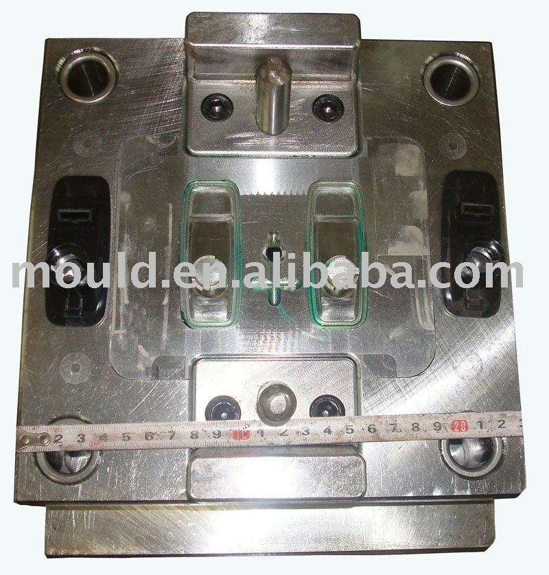 Plastic injection mold for suitcase accessory