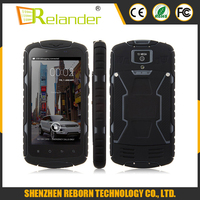 IP68 waterproof shockproof MTK6582 Quad Core 5 inch 3G rugged android mobile phone