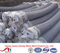 Anping Fatory Galvanized Chain Link Fence(Diamond Wire Mesh)/PVC Coated Chain Link mesh panel