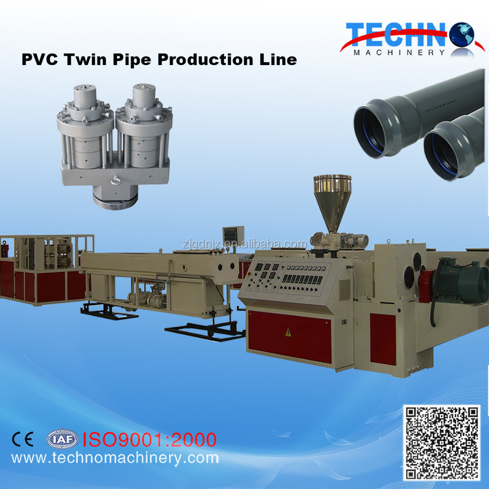 dual pipe production line