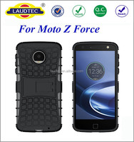 2 in 1 hybrid armor shockproof case for motorola moto z force