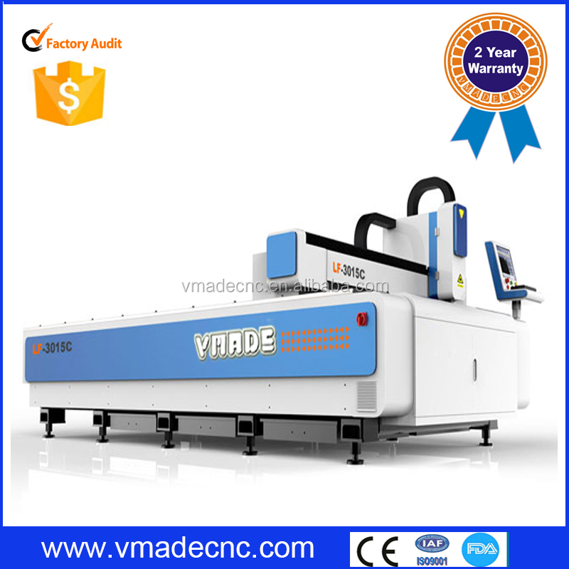 300w 500w 1000w 2000w raycus dual shift working table fiber laser metal cutting machine