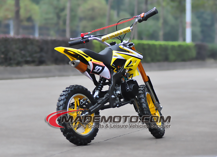 2017 cheap CE mini moto 49cc mini dirt bike with big foot for sale