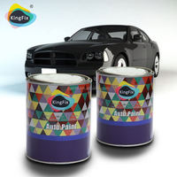 Good gloss car paint colors with very accurate color matching