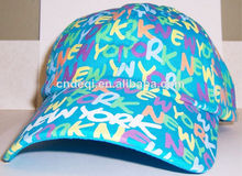 Wholesale New York Souvenir cap sports travel classic Blue hat