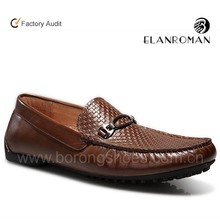 2016 newest England style casual style leather loafers men shoes